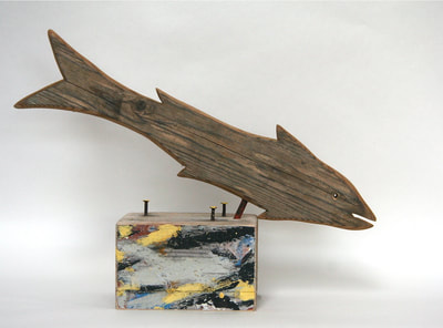 Diving driftwood fish - CM